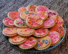 Most amazing iced biscuits, so much detail