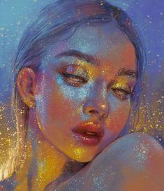 60 ideas for drawing art ideas sketches texture Bel Art, Arte Sketchbook, Digital Art Girl, Pretty Art, Aesthetic Art, Aesthetic Painting, Aesthetic Drawing, Portrait Art, Digital Portrait