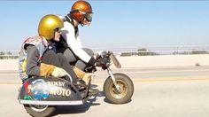 Bixby Moto Honda Z50 Minibike Sidecar Deus Ex Machina