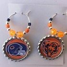 NFL Chicago Bears, or pick your team, wine glass charms