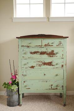 missmustardseed.com...wonderful milk paint dresser