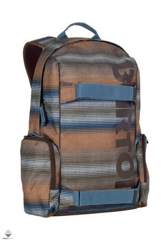 Plecak Burton Emphasis 35L Stripe Print, Backpacks, Skateboard, Online Shopping, Bags, Zip, Design, Fashion, Skateboarding