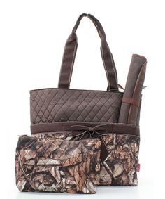 Camo diaper bag for your future kiddos lol