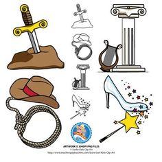 Free Symbols Clipart : Legend, Myth, Tall Tale, Fairy Tale