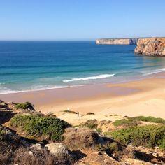 "Surf spot ""Praia do Beliche"", Sagres, Portugal"