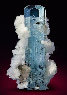 Clear aquamarine