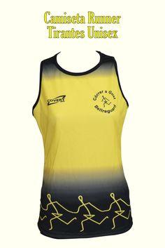 Covert Sport - Ropa Deportiva Personalizada Runner -  Equipaciones Córrer a Gust - Bellreguard - Camiseta Runner Tirantes Mujer