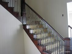 Stair Rails and Balusters        Have you been looking for a great do-it-yourself project that can spruce up your entire home? Or maybe som...