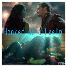 Peter/starlord and Gamora Marvel Comics, Marvel And Dc Superheroes, Marvel Fan, Marvel Avengers, Gardens Of The Galaxy, Starlord And Gamora, Walt Disney, Gamora Guardians, Kissing Scenes