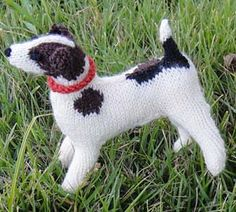 Knitting Pattern For Jack Russell Dog : 1000+ images about hondjes on Pinterest Dog pattern, Jack russells and Cats...