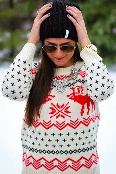 Top 5 Fab Christmas Morning Outfits | get in the Christmas spirit