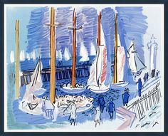 One Kings Lane - HGTV: Build Your Room - Sailboats, Côte D'Azur