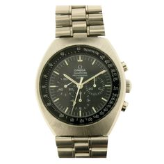 Omega stainless steel Speedmaster Mark II Chronograph Wristwatch