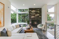 Contemporary Home, Living Room