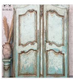 Painted Armoire, Painted Furniture, Haint Blue, French Provincial Furniture, Paint Companies, Dixie Belle Paint, Mineral Paint, Paint Cans, Or Antique