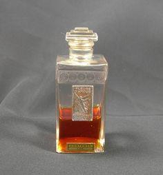 SUPER RARE Vtg 1920s FLEURs D'AMOUR Perfume PARFUM EXTRAIT Roger et Gallet 1 oz #ROGERetGALLE