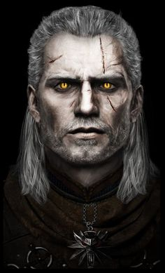 Geralt of Rivia (based on Henry Cavill) : witcher The Witcher Geralt, Witcher Art, Witcher Wallpaper, The Witcher Books, Game Of Thrones Art, Fanart, Arte Horror, Wild Hunt, White Wolf