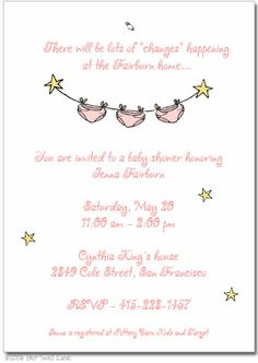 diaper party invitation wording | diaper bash party baby shower or, Party invitations
