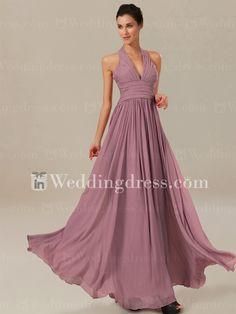 Elegant Mother Of Bride Dress With Halter Neckline MO253