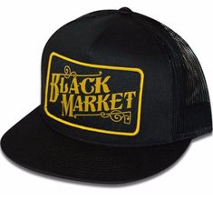 f8618a081a3 The BLACK MARKET Trucker Cap