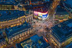 Jason Hawkes Aerial Photos London - The Atlantic