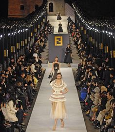 Fendi Show on the Great Wall of China, Spring 2008