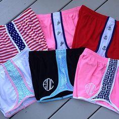 Krass and Co - monogram shorts - preppy - summer