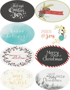 Christmas and Holiday labels are designed by Catherine Auger of Pumpkinsandposies.com This collection includes an assorted set of round labels and oval labels. Each design is in a round label and an oval labels: Happy Holidays, Merry Christmas, Holly Jolly, Peace and Joy and more. Labels are formatted for Worldlabel WL-550 and our Round labels WL-5375, for optimum alignment, we recommend using our full sheet labels and cutting out the design.