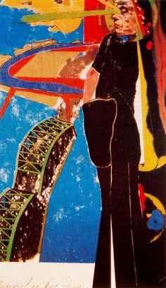 Ronald B. Kitaj (Cleveland, 29 de octubre de 1932 - Los Angeles, 21 de octubre de 2007), fue un pintor de estilo pop art, de origen estadounidense y nacionalizado británico. Estuvo en la Ruskin School of Drawing and Fine Arts de Oxford y en el Royal College of Art. Allí conocerá con la corriente del pop art británico, conociendo a artistas como David Hockney, Peter Phillips o Allen Jones. Además de ellos, colaboró con Derek Boshier y Caufield en hacer de Londres el centro del pop art…