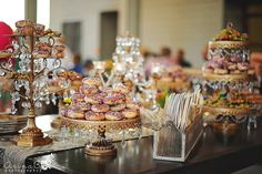 Dessert Table >> Tiered Cake Stands, Cupcake stands, Chandelier Cake Stands and MORE! Shop Opulent treasures collection here>> http://www.opulenttreasures.com/shop/