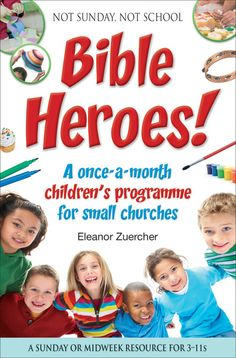 Not Sunday, Not School Bible Heroes! contains eleven off-the-peg themed activity programmes and a five-session holiday club based around the lives of Old and New Testament Bible heroes, both well-known and less familiar. The activities are designed to explore the stories of God working through people throughout history, including considering how we ourselves might fit in.