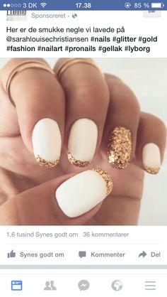 Negle guld hvid