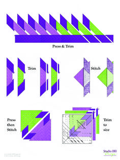 Quilting Rulers, Quilting Tips, Quilting Projects, Quilting Designs, Star Quilt Patterns, Star Quilts, Quilt Blocks, Elizabeth Hartman Quilts, Hunters Star Quilt