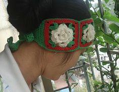christmas crafts: crocheted headband, free crochet patterns | make handmade, crochet, craft