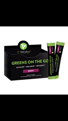Greens on the go! Get your daily fruit and veggies in just 8 oz!   Message me for details!
