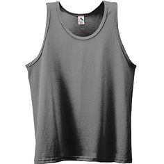 Augusta Sportswear Men's Athletic Self Fabric Double Needle Hem Bottom Tank. 180 Description 50% polyester/50% cotton jersey knit, Self-fabric binding at neck and armholes, Double-needle hemmed bottom. G0tApparel