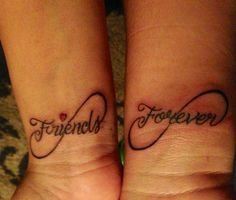 My bestie & I friendship tattoo❤