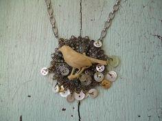 Repurposed items make intersting jewelry