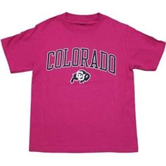 Colorado Youth Tee - Pink $14.99