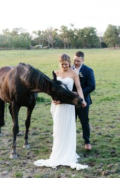 Gown: Carol Hannah Middleton Place | Sash: Braided Sparkle Belt | Photographer: Erin & Tara | Design, Styling & Flowers: The Style Co.