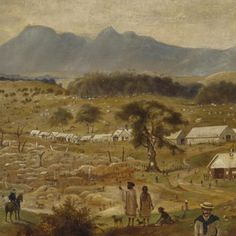 The Gold Rush | State Library of NSW - unit of work Eureka Stockade, Primary History, Melbourne, Sydney, Gold Prospecting, Broken Promises, Gold Rush, South Wales, Vintage Images