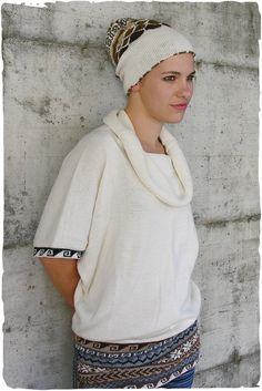 Hippie alpaca vest  #alpaca #vest Cowl neck #wool vest for woman, short #kimono sleeves - See more at: http://www.lamamita.co.uk/en-US/store/winter-clothing/1/jumpers/hippie-alpaca-vest#sthash.7FAZ6h7l.dpuf