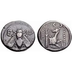 Greek coins. Ephesus. Tetradrachm ca 387-295, AR 15.23g.