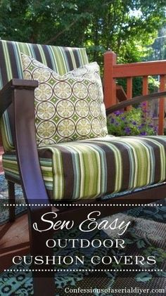 Diy Patio Furniture Covers No Sew