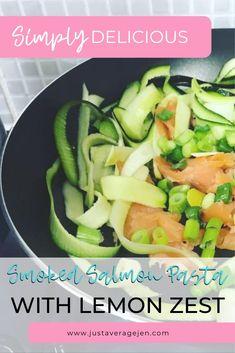 Slimming World Smoked salmon pasta recipe Slimming World Pasta Dishes, Easy Slimming World Recipes, Smoked Salmon Pasta Recipes, Syn Free Food, Quick Easy Meals, Food Hacks, Followers, Lemon, Healthy Eating
