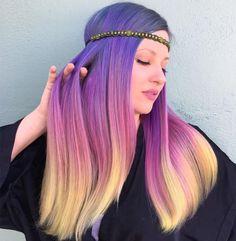 "1,530 Likes, 49 Comments - Orlando LA Vivid Hairstylist (@nealmhair) on Instagram: "" Pastel Sunset using all @pravana with @brazilianbondbuilder added my fave @pinkpewter…"""