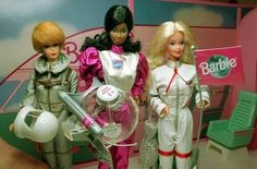 Barbie astronaut