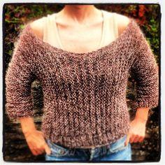 jumper i sidelengsstrikk #strikk #jumper #instastrikk #knitstagram #knit #knitwear #sweater #garnstudio #mindesignstrikk #madebyme #Padgram
