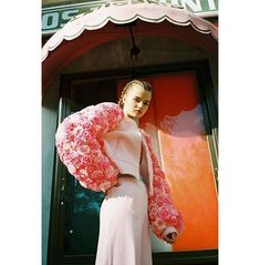 WEBSTA @silvia_sandino_stylist Girl's World, the editorial I styled for @bricks_magazine. You can see the full editorial at @Murasaki_agency. - Styling: 🙋 for @murasaki_agency Photography: @paula_latimori MUAH: @martaruiz.makeup Model: @kristinamalevych from @5thavenueagency Styling Assistant: @sarederi Photography Assistant: @kseniascheffer Jacket: @mireiabalaguer.design Pants: @townclothing Top: @laiasswimwear