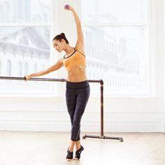 Ballet-Inspired Moves | Plié Squat to Relevé: Works core, obliques, glutes, quads, calves